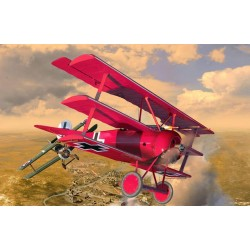 125 years Rote Baron Fokker DR1 (Limited Edition) 1/28 Scale Kit