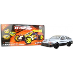 Remote Toyota Corolla Twin Cam Trueno Drift RC Car - PRO Brushless Version Remote Control Ready to Run 1/10 scale