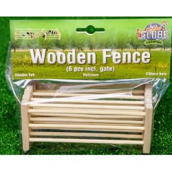 Wooden Fence 1:24 Scale