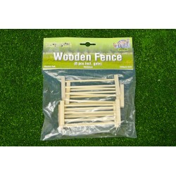Farm Wooden Fence 1:32 Scale