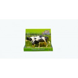 Cow 1:32 Scale Black/White