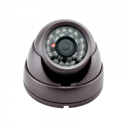Round Camera With Sound / Reversing Cameras For Commercial Vans Cars Trucks And Buses