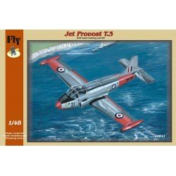 Jet Provost T.3 / T.3a 1/48 Scale Kit