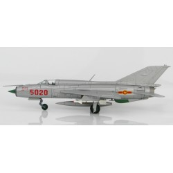 "MIG21PFM ""Fishbed"", 5020 of Nguyen Tien Sam, 927th ""Lam Son"", 5 July 1972 1/72 Scale"