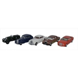 1/76 SCALE DIECAST BENTLEY 5 PIECE SET
