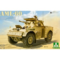 French Light Armoured Car AML−60 1/35 scale Kit by Takom