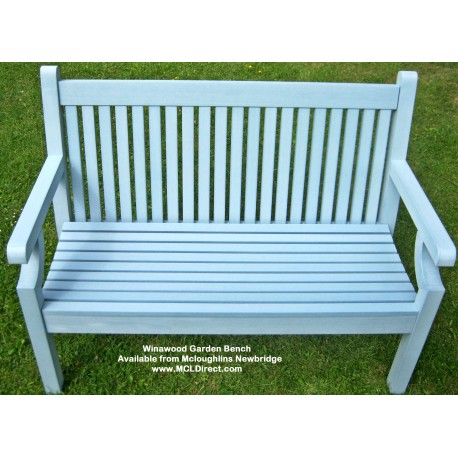 Blue Winawood Bench - 2 Seater Winawood Powder Blue