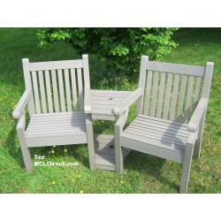 Winawood Love Seat Grey
