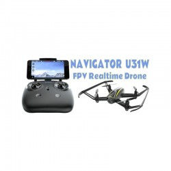 Udi U31W Navigator RTF - WiFi Drone with Tx & HD Camera & UVR-3 Goggles/Screen