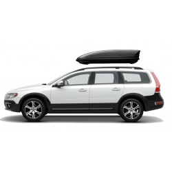 460Lts XL Menabo Marathon Car Roof Holiday Box 460 Lts Black. Free Delivery in Ireland on this Box