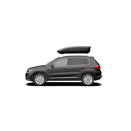 400Lts L Menabo Marathon Car Roof Holiday Box 400 Lts Black- Free Delivery Ireland.