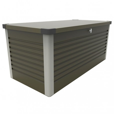 Trimetals Patio Box Long 1.87 Metres - Lockable- Green