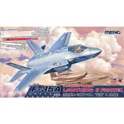 Lockheed Martin F-35A Lightning II Fighter ( Meng LS007) KIT 1/48