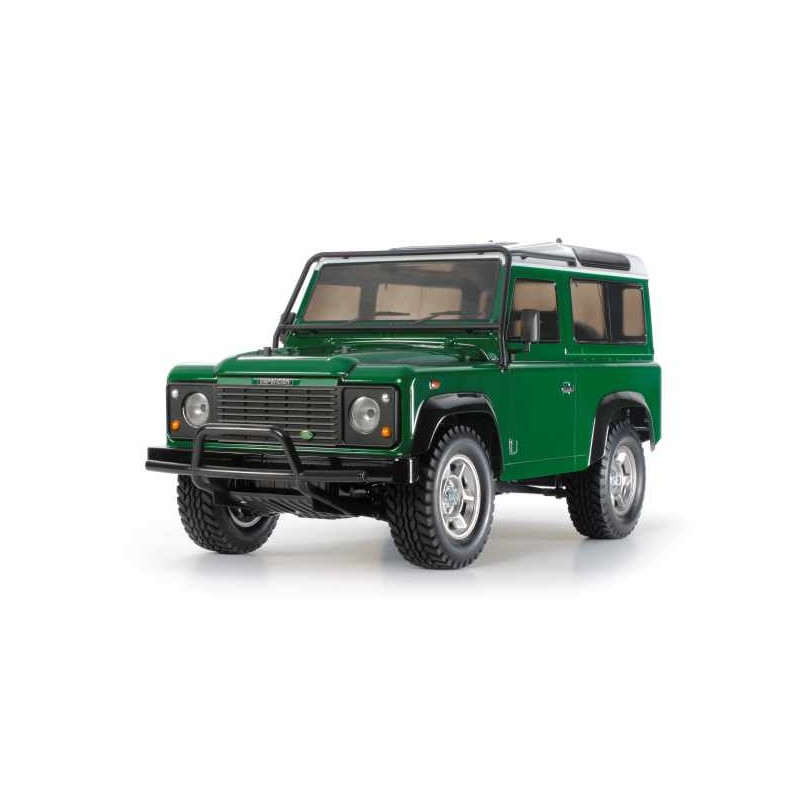 remote rc land rover defender 90 tamiya rc kit includes. Black Bedroom Furniture Sets. Home Design Ideas