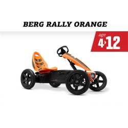 Berg Rally Orange 4 - 12 yrs