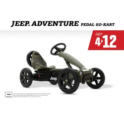 Berg Rally Jeep Adventure 4 - 12 yrs