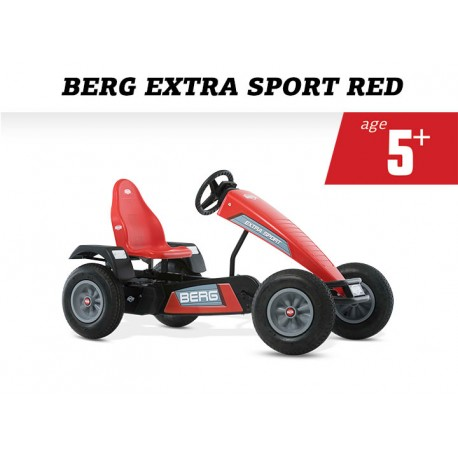 Berg Extra Sport Red Bfr And Free Passenger Seat