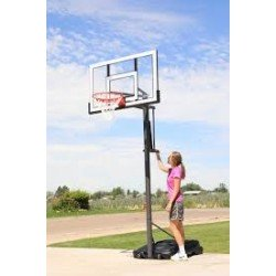 Lifetime Products 54 IN. PORTABLE BASKETBALL HOOP WITH Slam-It Pro Rim- Power lift