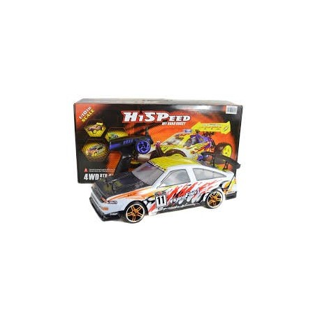 Remote Trueno Toyota Corolla Twin Cam Electric Rc Drift Cac 1/10 Scale Brushed