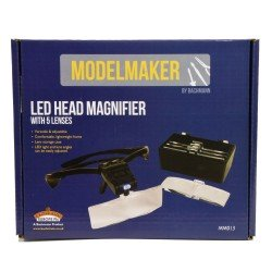 Led head Magnifier Glasses ModelMaker