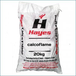Pallet of 40 x 20 kg bags of Hayes Calcoflame SMOKELESS Coal