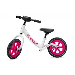 Berg Biky Pink And White Balance Bike