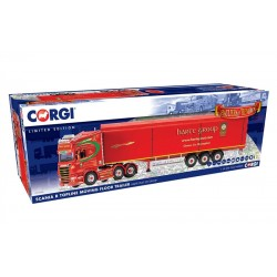 1/50 Die-Cast Scania R Topline Moving Floor Trailer, Harte Peat Ltd Group  DIS