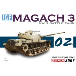 1/35 Idf Magach 3 - Smart Kit