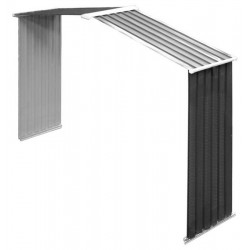 Wall/ Colossus Springdale Anthracite Grey Extension Plug Wall And Roof 2 Foot Wide For 10Ft Shed (At Door).