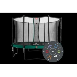 Berg Favorit Tatoo 14Ft Foot Trampoline And Comfotr Safety Net
