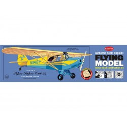 Piper Super Cub 95 Guillows Balsa Kit 1/18 Kit