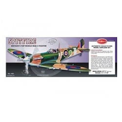 Spitfire 1/16 Balsa Flyer Kit