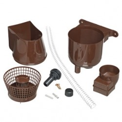 Guttermate Brown Rain Water Harvesting Diverter