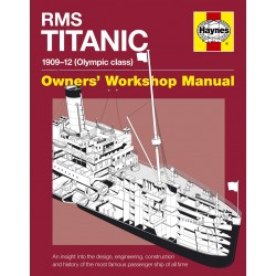 Haynes Hardback Book Rms Titanic Film  Manual
