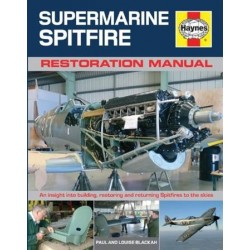 Haynes Hardback Book Supermarine Spitfire Restoration Hard Cover Manual Book