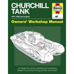 Haynes Hardback Book Churchill Tank Manual Hard Cover