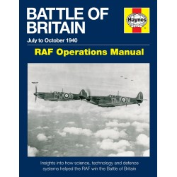 Haynes Hardback Book Battle Of Britain Manual Book