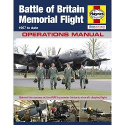 Haynes Hardback Book Raf Battle Of Britain Memorial Flight Manual Book