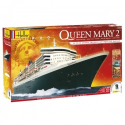 Queen Mary 2 1/600 Model Kit Heller 52902