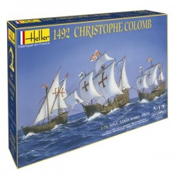 Christophe Colomb 1/75 Scale Kit Heller 52910