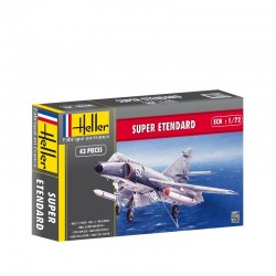 Super Etendard 1/72 Kit Heller 80360