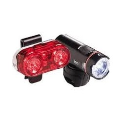 Bontrager Ion 120 Lumens/ Flare 3 Light Set
