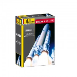 Ariane V Spaceship 1/125 Rocket Kit Heller 80441