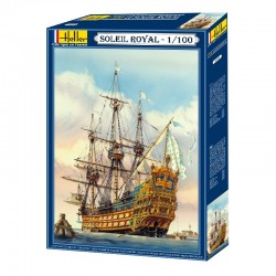 Soleil Royal 1/100 French Navy Sailing Ship Kit Heller 80899