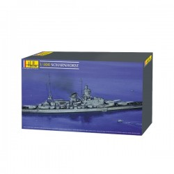 Scharnhorst Pocket Battleship 1/400 Kit Heller 81085
