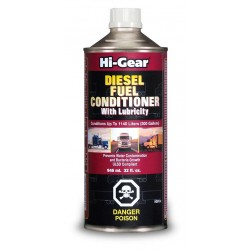 One Bottle Of Hi-Gear Diesel Fuel Conditioner With Lubricity 32 Fl.Oz.