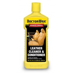 One Bottle Of Dr Wax Leather Cleaner And Conditioner 10 Fl.Oz.