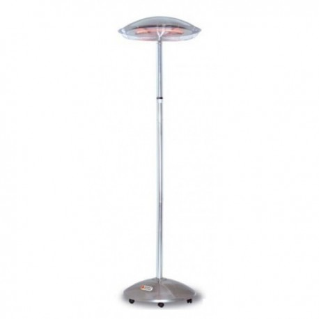 Patio Heater Fs800 Secomat Commercial Mobile Heater 2.4Kw On Wheels Electric Heater