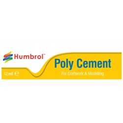 Poly Cement Medium Humbrol - 12Ml Tube