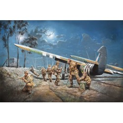 As.51 Horsa Mk1/11 And British Paratroops Dday Italeri 1/72 Kit